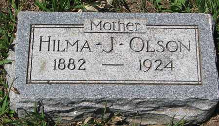 OLSON, HILMA J. - Union County, South Dakota   HILMA J. OLSON - South Dakota Gravestone Photos
