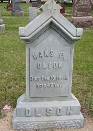 OLSON, HANS C. - Union County, South Dakota | HANS C. OLSON - South Dakota Gravestone Photos