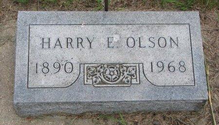 OLSON, HARRY E. - Union County, South Dakota | HARRY E. OLSON - South Dakota Gravestone Photos