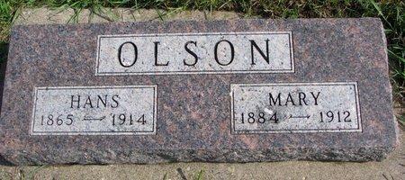 OLSON, HANS - Union County, South Dakota | HANS OLSON - South Dakota Gravestone Photos