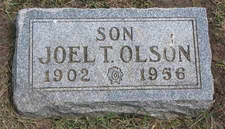 OLSON, JOEL T. - Union County, South Dakota   JOEL T. OLSON - South Dakota Gravestone Photos