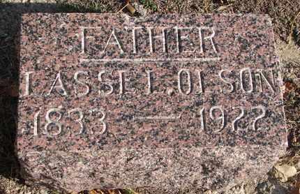 OLSON, LASSE L. - Union County, South Dakota   LASSE L. OLSON - South Dakota Gravestone Photos