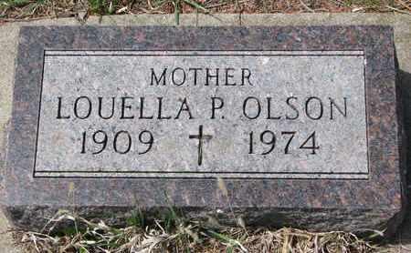 OLSON, LOUELLA P. - Union County, South Dakota | LOUELLA P. OLSON - South Dakota Gravestone Photos