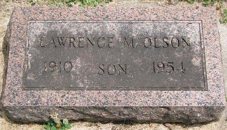 OLSON, LAWRENCE M. - Union County, South Dakota   LAWRENCE M. OLSON - South Dakota Gravestone Photos