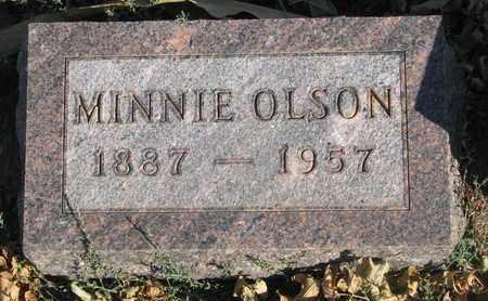 OLSON, MINNIE - Union County, South Dakota | MINNIE OLSON - South Dakota Gravestone Photos
