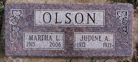 OLSON, JUDINE A - Union County, South Dakota | JUDINE A OLSON - South Dakota Gravestone Photos