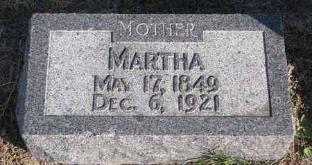 OLSON, MARTHA - Union County, South Dakota | MARTHA OLSON - South Dakota Gravestone Photos