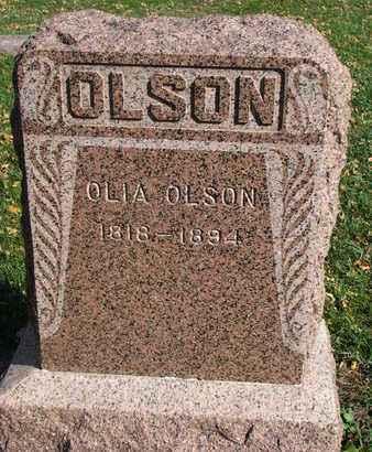 OLSON, OLIA - Union County, South Dakota | OLIA OLSON - South Dakota Gravestone Photos