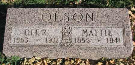 OLSON, OLE R. - Union County, South Dakota   OLE R. OLSON - South Dakota Gravestone Photos
