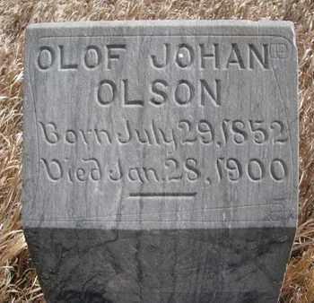 OLSON, OLOF JOHAN (CLOSEUP) - Union County, South Dakota   OLOF JOHAN (CLOSEUP) OLSON - South Dakota Gravestone Photos