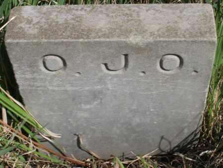 OLSON, OLOF JOHAN (FOOTSTONE) - Union County, South Dakota | OLOF JOHAN (FOOTSTONE) OLSON - South Dakota Gravestone Photos