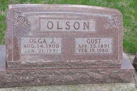 OLSON, OLGA J. - Union County, South Dakota | OLGA J. OLSON - South Dakota Gravestone Photos