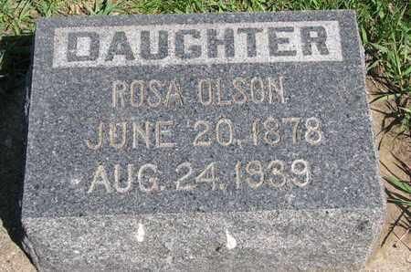 OLSON, ROSA - Union County, South Dakota   ROSA OLSON - South Dakota Gravestone Photos
