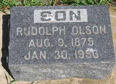 OLSON, RUDOLPH - Union County, South Dakota | RUDOLPH OLSON - South Dakota Gravestone Photos