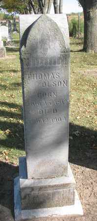 OLSON, THOMAS - Union County, South Dakota | THOMAS OLSON - South Dakota Gravestone Photos