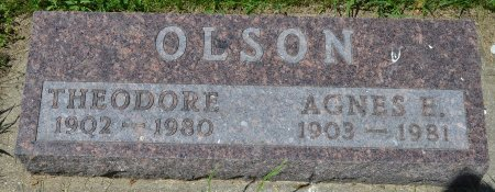 OLSON, THEODORE - Union County, South Dakota | THEODORE OLSON - South Dakota Gravestone Photos