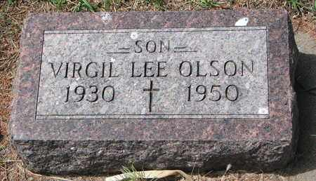 OLSON, VIRGIL LEE - Union County, South Dakota | VIRGIL LEE OLSON - South Dakota Gravestone Photos