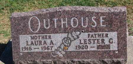 OUTHOUSE, LESTER G. - Union County, South Dakota   LESTER G. OUTHOUSE - South Dakota Gravestone Photos