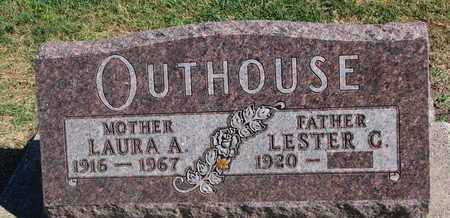 OUTHOUSE, LESTER G. - Union County, South Dakota | LESTER G. OUTHOUSE - South Dakota Gravestone Photos