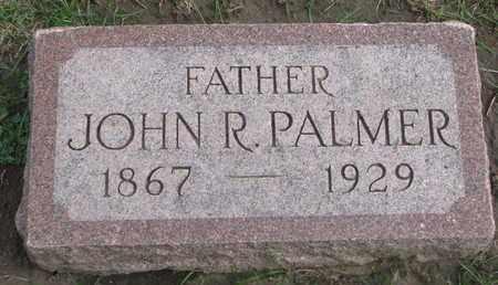 PALMER, JOHN R. - Union County, South Dakota | JOHN R. PALMER - South Dakota Gravestone Photos