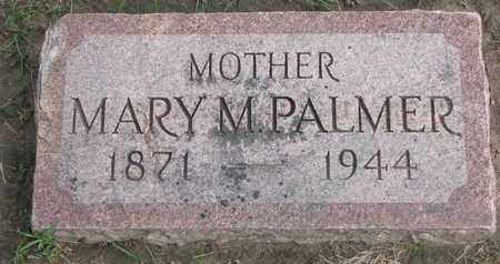 PALMER, MARY M. - Union County, South Dakota | MARY M. PALMER - South Dakota Gravestone Photos