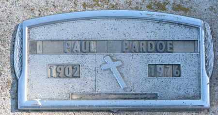 PARDOE, PAUL - Union County, South Dakota | PAUL PARDOE - South Dakota Gravestone Photos
