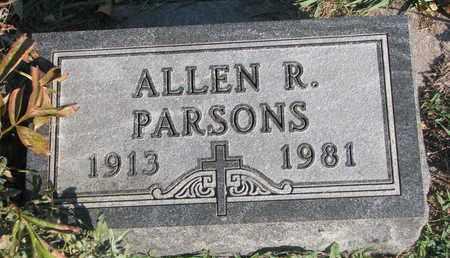 PARSONS, ALLEN R. - Union County, South Dakota | ALLEN R. PARSONS - South Dakota Gravestone Photos