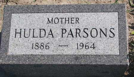 PARSONS, HULDA - Union County, South Dakota | HULDA PARSONS - South Dakota Gravestone Photos