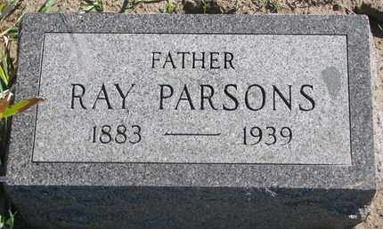 PARSONS, RAY - Union County, South Dakota   RAY PARSONS - South Dakota Gravestone Photos