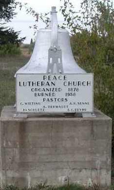 *PEACE LUTHERAN,  - Union County, South Dakota |  *PEACE LUTHERAN - South Dakota Gravestone Photos
