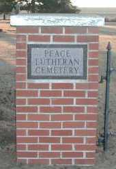**PEACE LUTHERAN, GATE - Union County, South Dakota | GATE **PEACE LUTHERAN - South Dakota Gravestone Photos