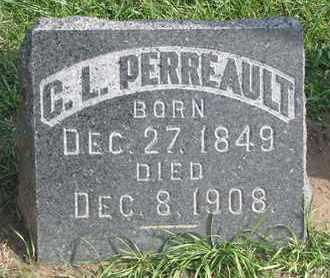 PERREAULT, C.L. - Union County, South Dakota | C.L. PERREAULT - South Dakota Gravestone Photos