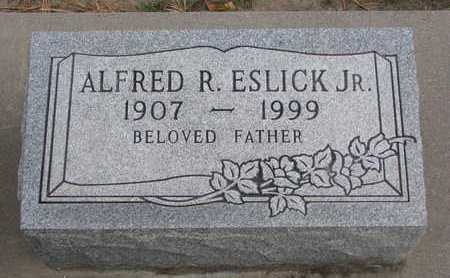 ESLICK, ALFRED R. JR. - Union County, South Dakota | ALFRED R. JR. ESLICK - South Dakota Gravestone Photos