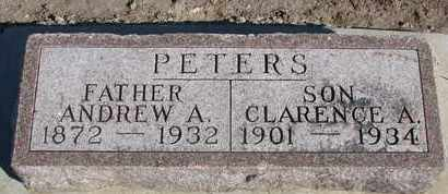 PETERS, ANDREW A. - Union County, South Dakota | ANDREW A. PETERS - South Dakota Gravestone Photos