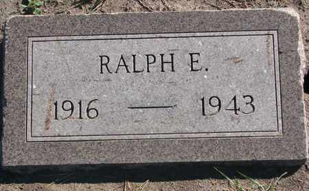 PETERSEN, RALPH E. - Union County, South Dakota | RALPH E. PETERSEN - South Dakota Gravestone Photos