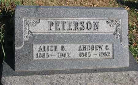 PETERSON, ANDREW G. - Union County, South Dakota | ANDREW G. PETERSON - South Dakota Gravestone Photos
