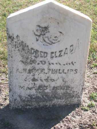 PHILLIPS, MILDRED ELZADA - Union County, South Dakota | MILDRED ELZADA PHILLIPS - South Dakota Gravestone Photos