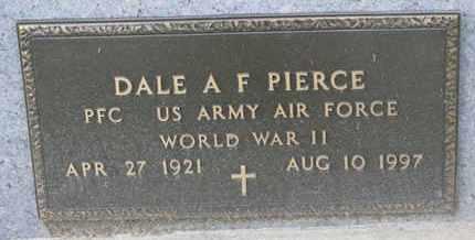 PIERCE, DALE A.F. (WORLD WAR II) - Union County, South Dakota | DALE A.F. (WORLD WAR II) PIERCE - South Dakota Gravestone Photos