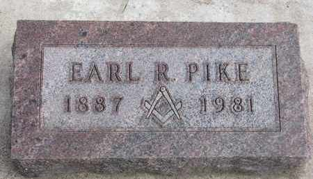 PIKE, EARL R. - Union County, South Dakota   EARL R. PIKE - South Dakota Gravestone Photos
