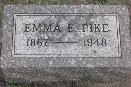PIKE, EMMA E. - Union County, South Dakota | EMMA E. PIKE - South Dakota Gravestone Photos