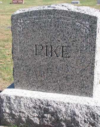 PIKE, FAMILY STONE - Union County, South Dakota | FAMILY STONE PIKE - South Dakota Gravestone Photos