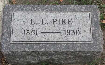 PIKE, L.L. - Union County, South Dakota | L.L. PIKE - South Dakota Gravestone Photos