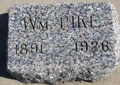 PIKE, WILLIAM - Union County, South Dakota   WILLIAM PIKE - South Dakota Gravestone Photos