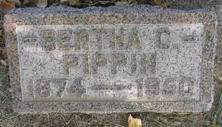 PIPPIN, BERTHA C. - Union County, South Dakota | BERTHA C. PIPPIN - South Dakota Gravestone Photos