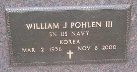 POHLEN, WILLIAM J. III (KOREA) - Union County, South Dakota | WILLIAM J. III (KOREA) POHLEN - South Dakota Gravestone Photos