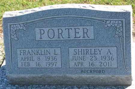 PORTER, FRANKLIN L. - Union County, South Dakota | FRANKLIN L. PORTER - South Dakota Gravestone Photos