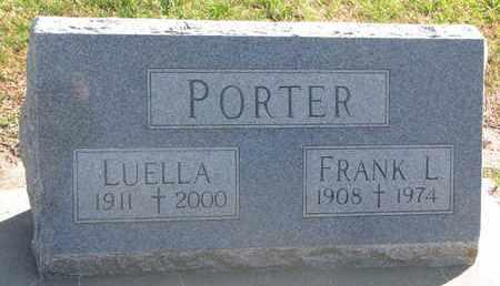 PORTER, FRANK L. - Union County, South Dakota | FRANK L. PORTER - South Dakota Gravestone Photos