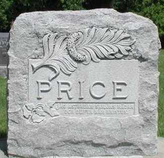 PRICE, *PLOT - Union County, South Dakota   *PLOT PRICE - South Dakota Gravestone Photos