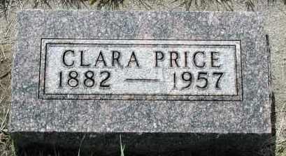 PRICE, CLARA - Union County, South Dakota | CLARA PRICE - South Dakota Gravestone Photos