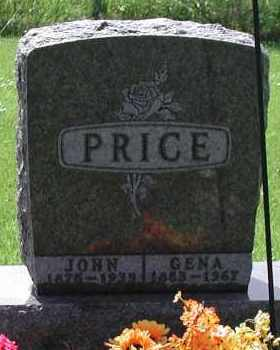 PRICE, JOHN - Union County, South Dakota | JOHN PRICE - South Dakota Gravestone Photos